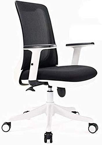 ZWH-Silla de Oficina Sillas Gaming Silla de oficina de malla reposabrazos ajustable Altura de la silla de inclinación ajustable Función de látex amortiguador del hogar del juego de video Silla Sillas