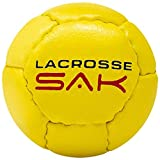 6 Pack Yellow Lacrosse Sak Training Balls. Same Weight & Size as a Regulation Lacrosse Ball. Great for Indoor & Outdoor Practice. Less Bounce & Minimal Rebounds.