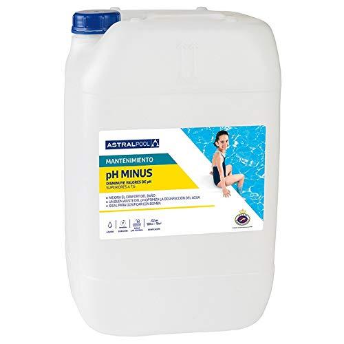 Fluidra Minorador pH Minus líquido AstralPool - Envase 20 litros - Ref 73674