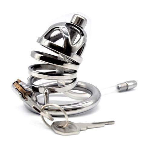 ZZDD FlExyhuy Chicken Cage Design Curved Exquisite Anti-Off-Ring-Design Belüftung Komfortable Männliche Chàstíty Lock Herren Sonnenbrille (Größe : L)