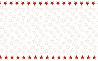 Nappes intissée de grande qualité Simply Star Blanc, Rouge 220 x 138 cm semblable à un tissus Matériel pour l'occasion, Fête, Event, Aniversaire, Noël, Avent