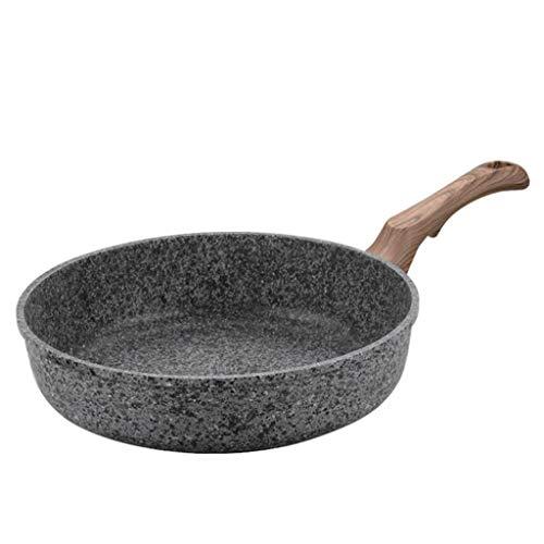 SPNEC Sartén, Cocina Pan, Hornear sin Vapor Cocina de Gas Espesado Cacerola Antiadherente de Piedra multifunción Pancake Pan Pot Filete de pastelería