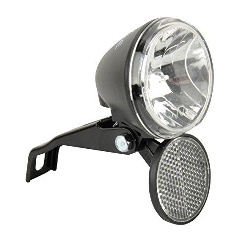 Fischer Dynamo halogeen koplamp, 10 lux, zwart/grijs