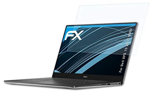 atFolix Schutzfolie kompatibel mit Dell XPS 15 2017 9560 Folie, ultraklare FX Bildschirmschutzfolie (2X)