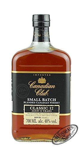 Canadian Club Classic 12 Jahre 40{9c52e16bd2195125e8f9b61524530675a1250d4fcc8701ce4f09c6c6a5ae02eb} 0,7L