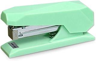 Mint Green Stapler Desk Premium Spring Powered Staplers No-Jam Desktop Executive Stapling Tool with Non-Slip Base 20 Sheet...