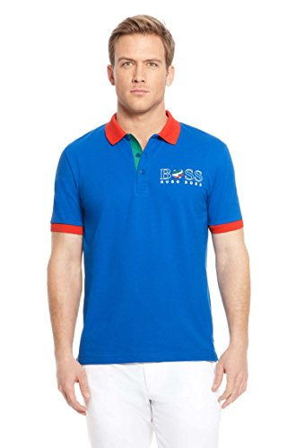 BOSS Hugo Polo - Homme - Bleu - Bleu Marine - Large