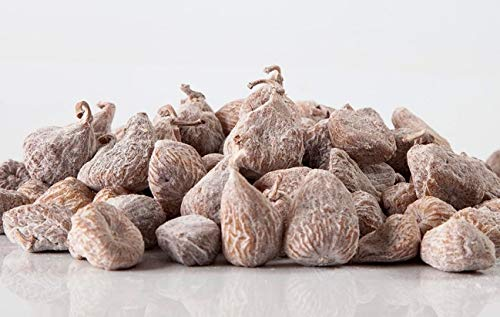 Figues sèches, espagnoles, déshydratées, grandes, sac refermable 1 Kg