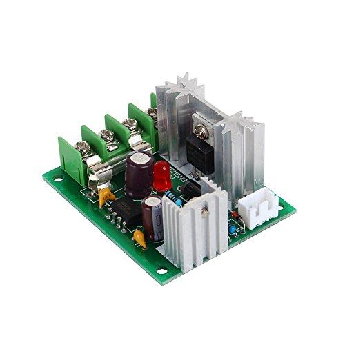 Ruspela Pulso ancho PWM DC Motor velocidad controlador 12V24V30V 120 W interruptor controlador universal con fusible