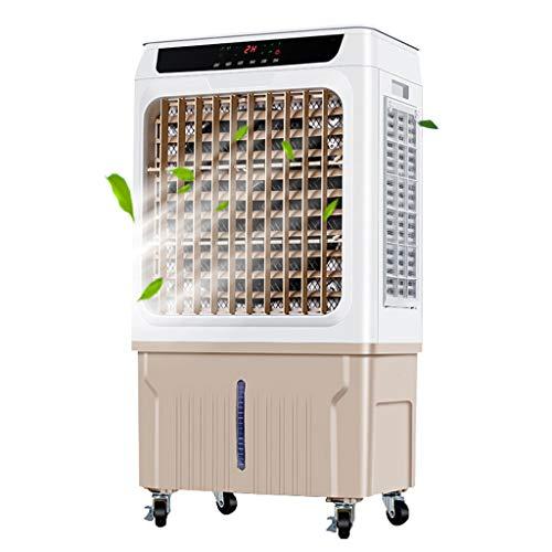 Ywarx 3-in-1 Mobiele airconditioner, 130 watt, 3 modi, 5000 m3/u, 40 liter, oscillerend, luchtreiniger, luchtbevochtiging