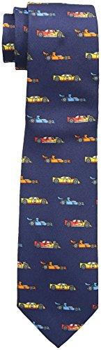 Wembley Boy's Novelty Fun Print Tie, Navy