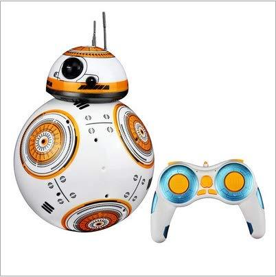HCKLYTN Star Wars BB-8 Control Remoto Inteligente Robot Balance Balance Stunt COCH Mobile WiFi Control Remoto Tõyy Ball Music u