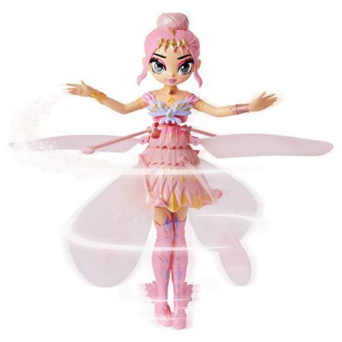Hatchimals 6059523 - Pixies Crystal Flyers Pinkfarbene fliegende Feen-Puppe