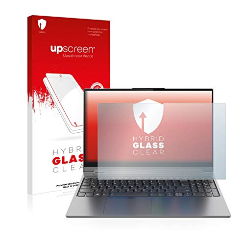 upscreen Hybrid Glass Panzerglas Schutzfolie kompatibel mit Lenovo Yoga C940 15
