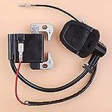 HaoYueDa Cable de Bobina de Encendido para Subaru Robin NB411 EC04 BG411 CG411 NB 411 Módulo Magneto Motor de 2 Tiempos Motor Trimmer Cortador de Cepillo
