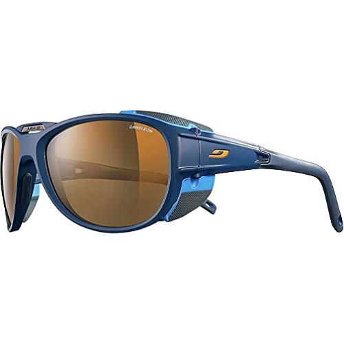Julbo Montebianco Sonnenbrille, Herren, Montebianco, Bleu/Bleu/Orange, one Size