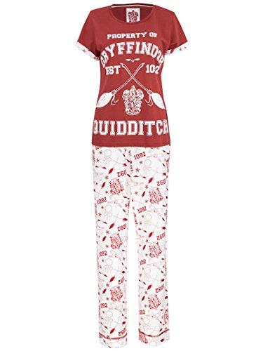 Harry Potter Damen Quidditch Schlafanzug XX-Large