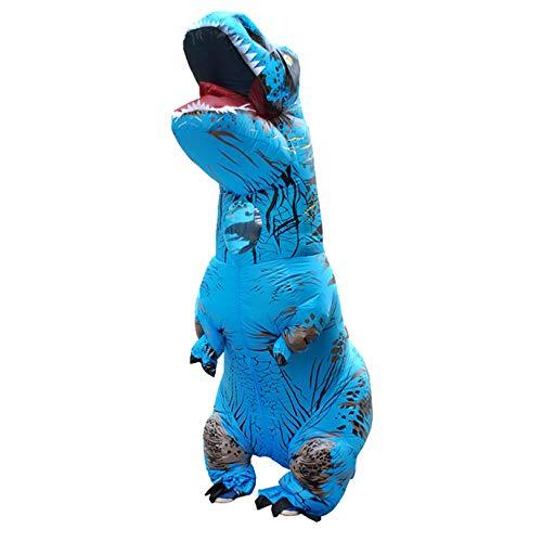 XCCV Kinder und Jugendliche Dinosaurier-Kostüm Tyrannosaurus Kostüm Aufblasbares...