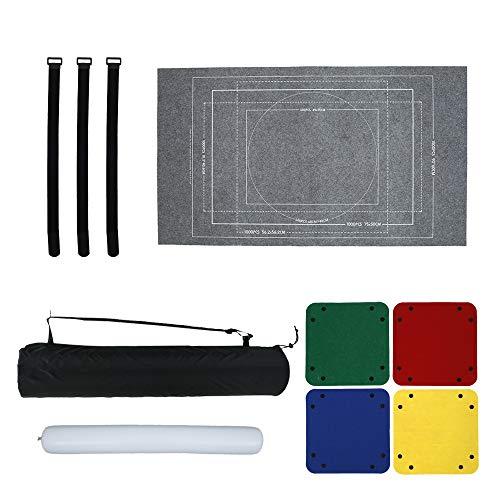 Puzzleunterlage, Puzzlematte Puzzlerolle Puzzle Roll Storage Mat für BIS 3000 Puzzle Teile,Puzzle Pad Puzzleteppich mit Aufbewahrungstasche, Tragbare Puzzle-Bodenmatte Zubehör (Paket 2 Grau 1500)