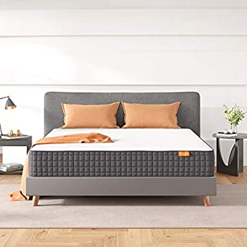 Sweetnight King Mattress 10 Inch Gel Infused Memory Foam King Size Mattress for Motion Isolation/Cooling Sleep/Pressure & Pain Relief with Medium Firm Feel Mattresses King