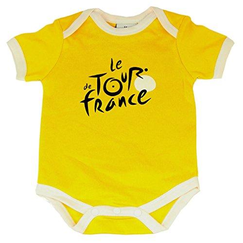 Body Bébé Tour de France Officiel - Jaune (6 Mois)