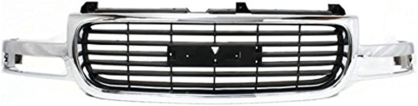 Koolzap For 00-06 Yukon Grill Grille Assembly Chrome Frame w/Black Insert GM1200430 19130787