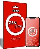 ZenGlass (2 Stück Flexible Glas-Folie kompatibel mit Umidigi One Pro Panzerfolie I Bildschirm-Schutzfolie 9H I (Kleiner Als Das Gewölbte Bildschirm)