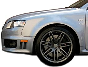 Brightt Duraflex ED-PAL-635 RS4 Wide Body Front Fenders - 2 Piece Body Kit - Compatible With A4 2006-2008