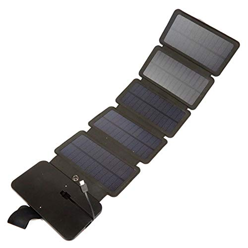 LIERSI Folding Solar Charger Solar Panel High Efficiency Solar Panel High Power Emergency Charging Treasure