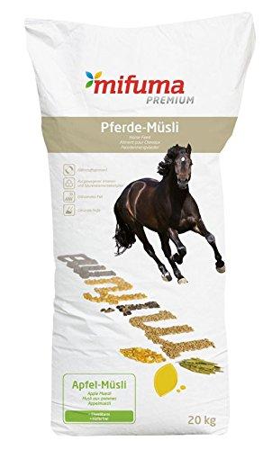 APFEL-MÜSLI 20kg für Pferde * herrlicher Duft nach frischen Äpfeln * Verwöhnung PUR! HAFERFREI & EIWEISSARM