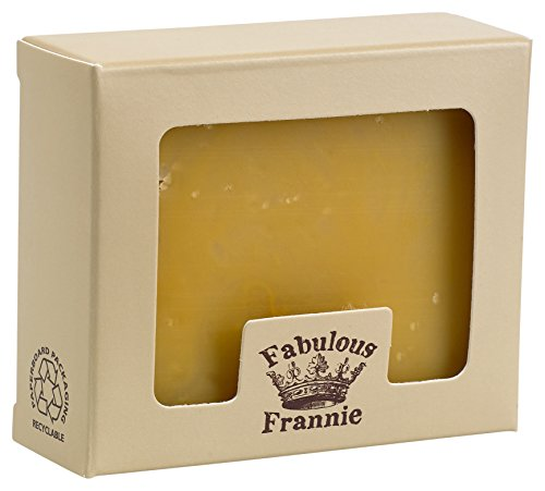 Fabulsous Frannie Bug Away 100% Natural Herbal Soap 4 oz made with Pure Essential Oils (Blend of Eucalyptus, Lavender and more)