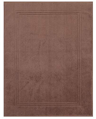 Betz Tapis de Bain XL Taille 60x97 cm 100% Coton qualité 950g/m² Gold Couleur Marron Noisette