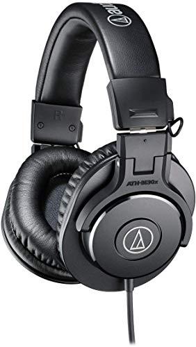 audio-technica プロフェッショナルモニターヘッドホン ATH-M30x ブラック スタジオレコーディング/楽器練習/テレワーク/在宅勤務