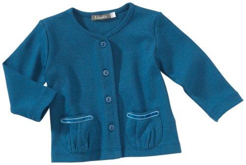 Lana uni 92 1001 5013 Veste pour bébé Fille - Turquoise - 86 cm/92 cm