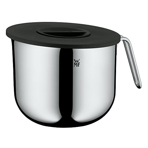 WMF Function Bowls Rührschüssel mit Deckel 2,5l, Schüssel 18,5 cm, Cromargan Edelstahl poliert, Innenskalierung, spülmaschinengeeignet