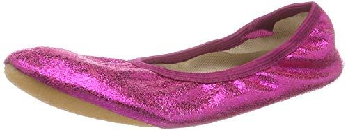 Beck Basic, Zapatillas de Gimnasia para Niñas, Rosa (Pink 06), 34 EU