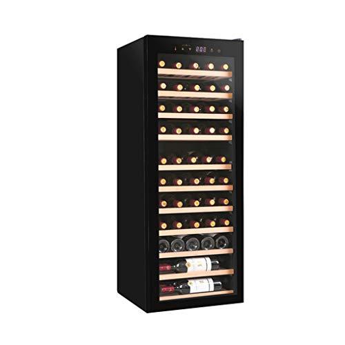 Even 38 Bottle Freestanding Wine Chiller Fridge,Wine Cooler and Refrigerator,Free Standing French Door Drink Fridge with Digital