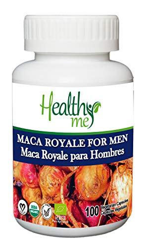 Maca Royale para Hombre. Maca Peruana 100% natural. Máxima potencia que aumenta energía y vitalidad. Rica en proteínas (fuente natural de Arginina), vitaminas y minerales. Excelente afrodisíac