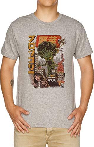 Vendax Los Broccozilla Camiseta Hombre Gris