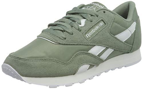 Reebok Classic Nylon, Sneaker Mujer, Harmony Green/White/Harmony Green, 37.5 EU