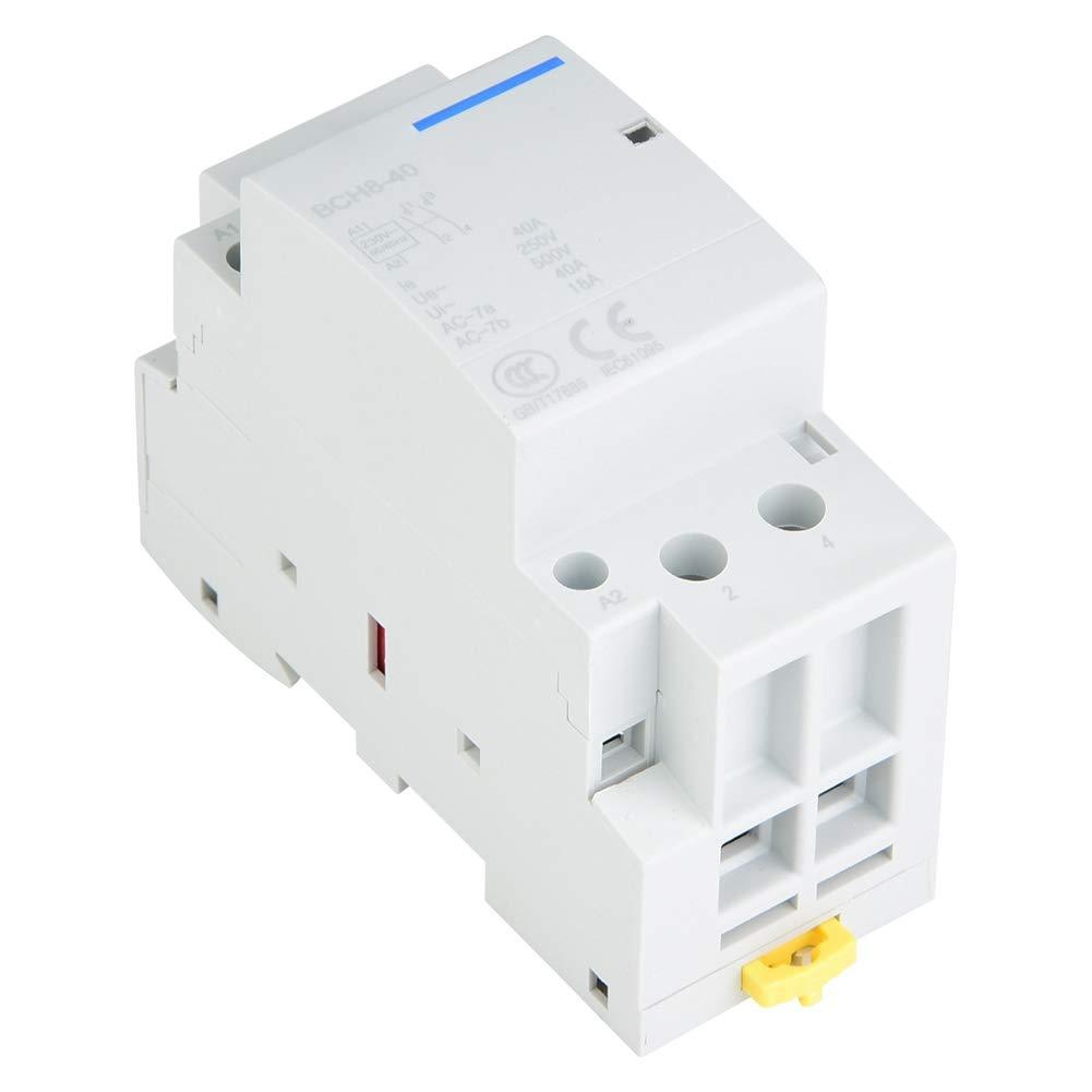 Heschen AC Contactor CJX2-1801 220V 50//60Hz Coil 3P 3 Pole Normally Closed Ie 18A Ue 380V