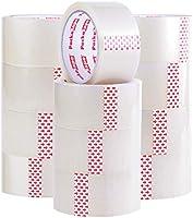 Packatape   Paketklebeband transparent   66m lang & 48mm breit   Ideal als Klebeband, Paketband, Verpackungsmaterial &...