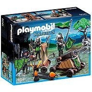 Building Kit Playmobil 6041Wolf Knights with Catapult