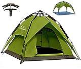 Climecare Wurfzelt Pop Up Zelt 2-3 Personen Campingzelte Winddicht Kuppelzelt Leichtes Sekundenzelt...