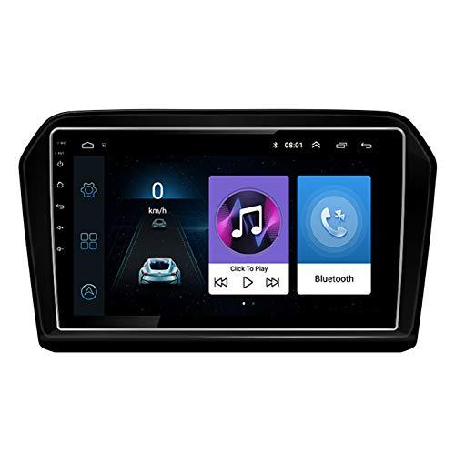 Android 10.0 8 Core 2.5D Pantalla Estéreo para automóvil Navegación por satélite Radio DVD Control del volante Reproductor de video Navegación GPS multimedia para VW Volkswagen Jett(Color:WiFi 2G+32G)