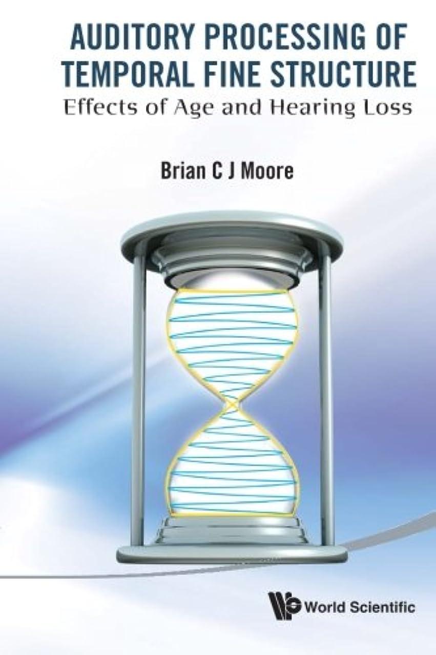 先住民プレゼンター資格情報Auditory Processing Of Temporal Fine Structure: Effects Of Age And Hearing Loss