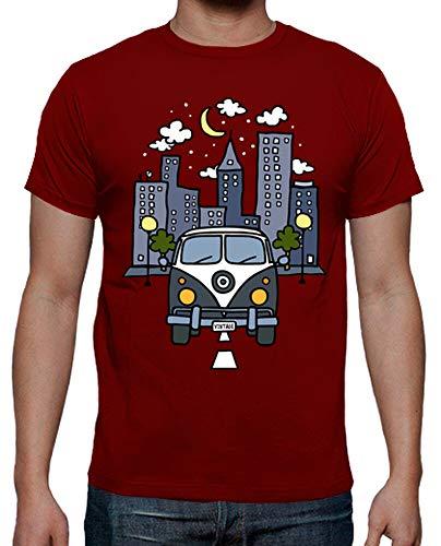 latostadora - Camiseta Vintage Life para Hombre
