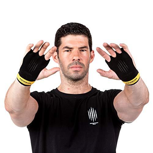 Earwaves ® Slim Grips 3H - Calleras Crossfit Cuero para Hombre y Muje