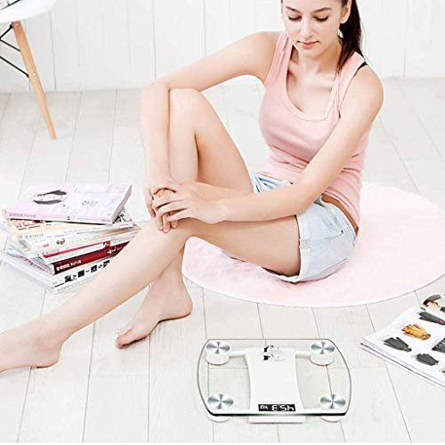 LKNJLL Weighing Scale, Weight Scale Electronic Meter Home Weight Loss Family Accurate Human Weighing Healthy Adult Electronic Scale 1