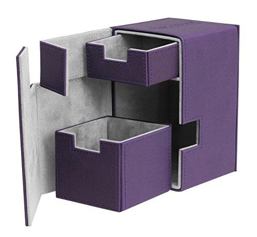 Ultimate Guard UGD010403 - Flip und Tray Deck Case 100+ Standardgröße Xeno Skin, violett